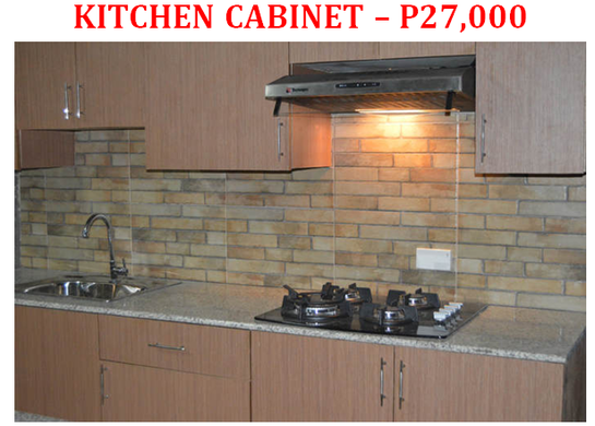 Low Cost Elegant Kitchen Cabinet